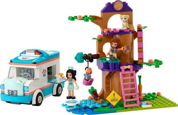 LEGO Friends 41445 Veterinární sanitka sestaveno