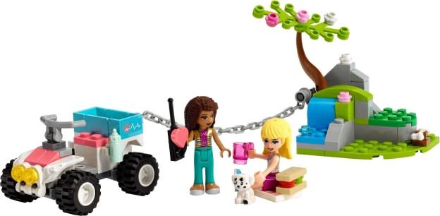 LEGO Friends 41442 Veterinářská záchranná bugina sestaveno