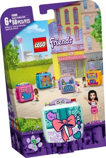 Stavebnice LEGO Emin módní boxík