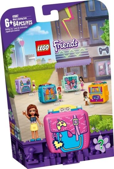 Stavebnice LEGO Oliviin herní boxík