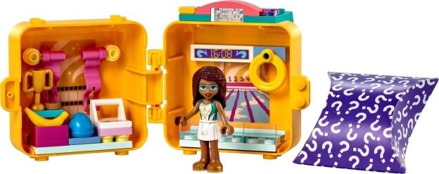 LEGO Friends 41671 Andrein plavecký boxík sestaveno