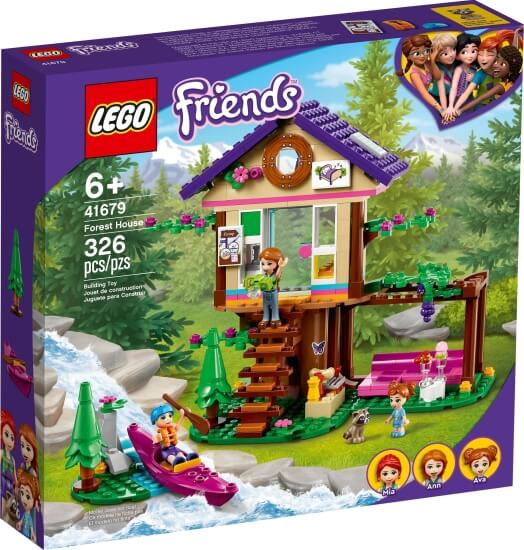 Stavebnice LEGO Domek v lese