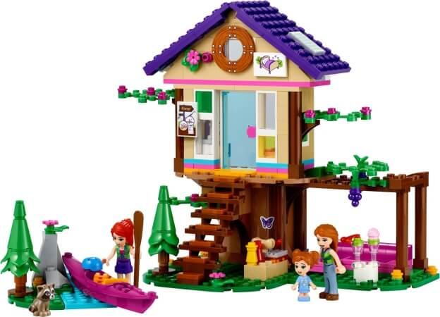 LEGO Friends 41679 Domek v lese sestaveno