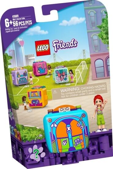 Stavebnice LEGO Miin fotbalový boxík