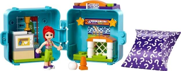 LEGO Friends 41669 Miin fotbalový boxík sestaveno