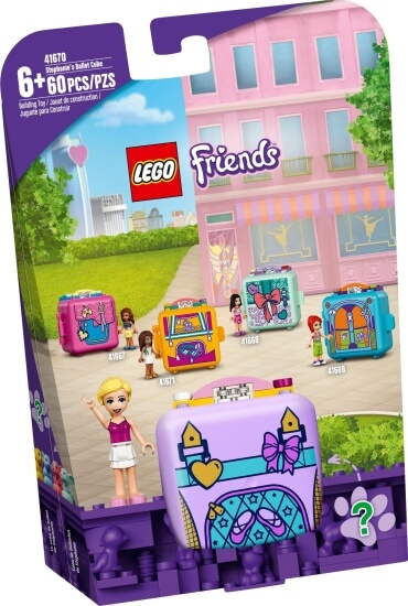 Stavebnice LEGO Stephaniin baletní boxík