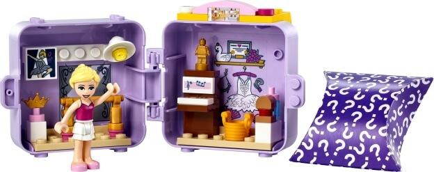 LEGO Friends 41670 Stephaniin baletní boxík sestaveno