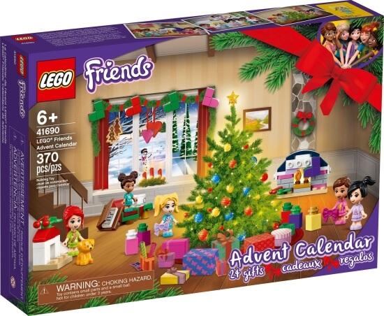 Adventní kalendář LEGO Friends 2021