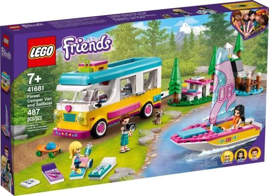 Stavebnice LEGO Kempování v lese