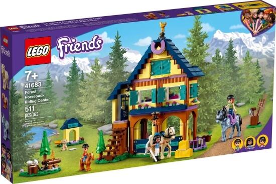 Stavebnice LEGO Lesní jezdecké středisko