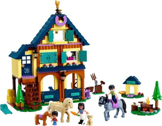 LEGO Friends 41683 Lesní jezdecké středisko sestaveno