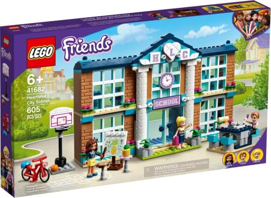 Stavebnice LEGO Škola v městečku Heartlake