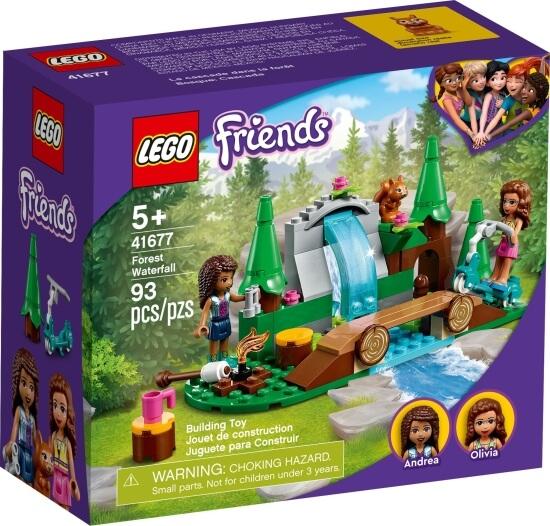 Stavebnice LEGO Vodopád v lese