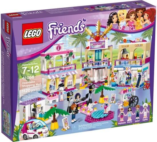 Stavebnice LEGO Obchodní zóna Heartlake