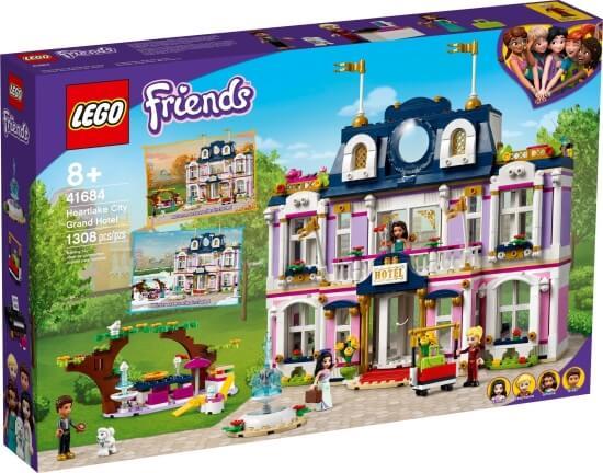Stavebnice LEGO Hotel v městečku Heartlake