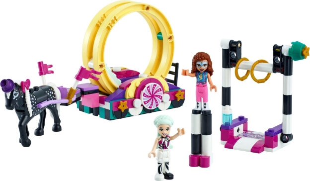 LEGO Friends 41686 Kouzelná akrobacie sestaveno