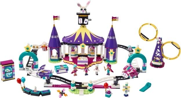 LEGO Friends 41685 Kouzelná horská dráha sestaveno