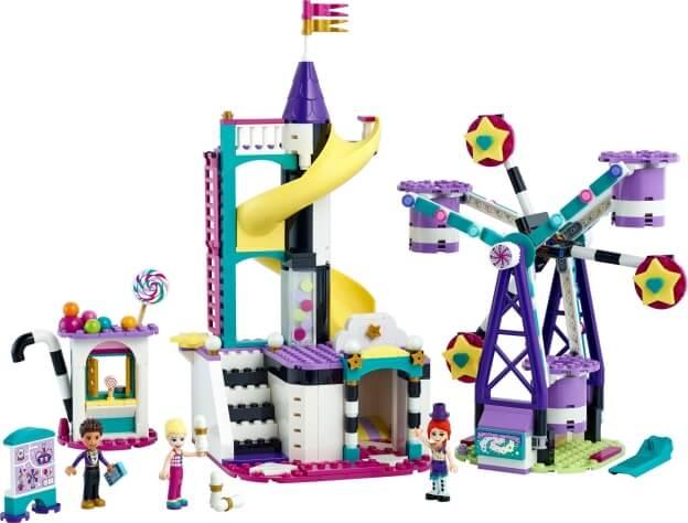 LEGO Friends 41689 Kouzelné pouťové atrakce sestaveno