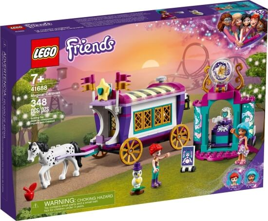 Stavebnice LEGO Kouzelný karavan