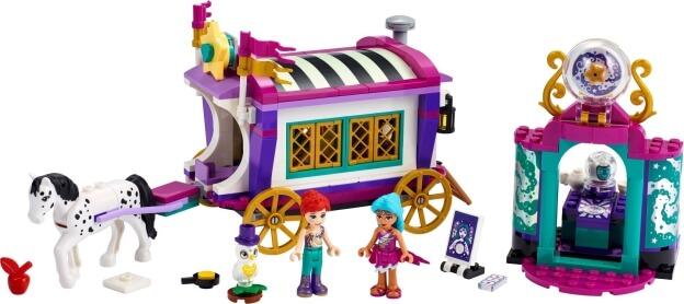 LEGO Friends 41688 Kouzelný karavan sestaveno