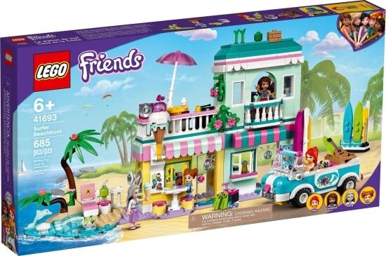 Stavebnice LEGO Surfařský dům na pláži